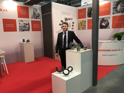 RINGSPANN Italia at MECSPE – Hall 5, Booth I22 – Front view