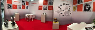 RINGSPANN Italia at MECSPE – Hall 5, Booth I22 – Wide view