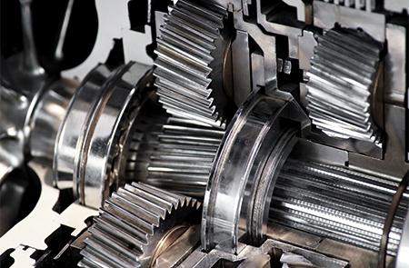 Ringspann secteurs for Nord gear motor 3d model